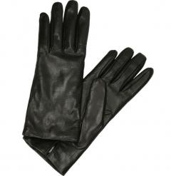 Rękawiczki - 32L NE J18. Czarne rękawiczki damskie Venezia, ze skóry. Za 169,00 zł.