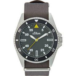 S.Oliver RED LABEL Zegarek dunkelgrau. Szare zegarki męskie marki s.Oliver RED LABEL. W wyprzedaży za 356,30 zł.