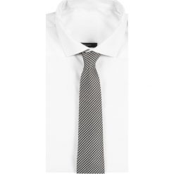 Krawaty męskie: Reiss HUNDRED HOUNDSTOOTH TIE Krawat black