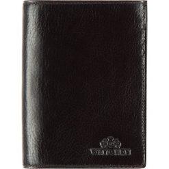 Portfel 21-1-265-L1. Czarne portfele męskie marki Wittchen. Za 369,00 zł.