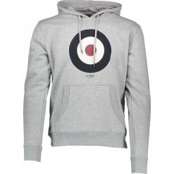 """Bluza """"Target"""" w kolorze szarym. Szare bluzy męskie z kieszeniami marki Ben Sherman, m, z nadrukiem. W wyprzedaży za 152,95 zł."""