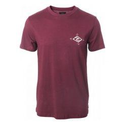 T-shirty męskie: Rip Curl T-Shirt Męski Stoke Merchants M Burgund