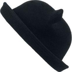 Kapelusze damskie: Poizen Industries Kitty Bowler Hat Kapelusz czarny