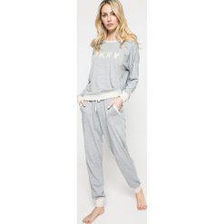 Dkny - Piżama. Szare piżamy damskie marki DKNY, l, z bawełny. Za 379,90 zł.