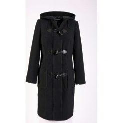 Płaszcze damskie pastelowe: Płaszcz wełniany budrysówka bonprix czarny
