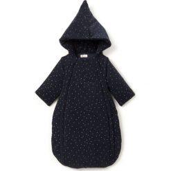 Kombinezony niemowlęce: Kombinezon z kapturem z imitacji kożuszka