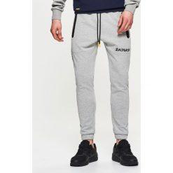 Spodnie dresowe męskie: Spodnie dresowe – Jasny szary