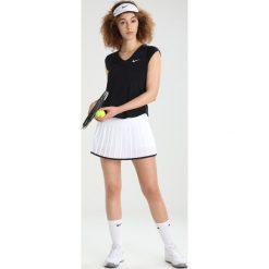 Nike Performance PURE Tshirt basic black/white. Czarne topy sportowe damskie marki Nike Performance, l, z elastanu. Za 419,00 zł.