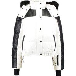 Kurtki damskie narciarskie: Topshop SNO NEW PUFF BALL  Kurtka narciarska black/white