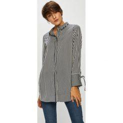 Vero Moda - Koszula. Szare koszule wiązane damskie Vero Moda, l, w paski, z poliesteru, eleganckie, z długim rękawem. W wyprzedaży za 129,90 zł.