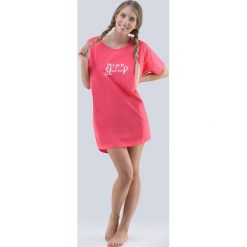 Koszula nocna Annie. Szare koszule nocne i halki Astratex, z nadrukiem, z bawełny. Za 60,99 zł.