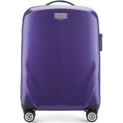 Walizka mała 56-3P-571-24. Fioletowe walizki marki Wittchen, z gumy, małe. Za 329,00 zł.