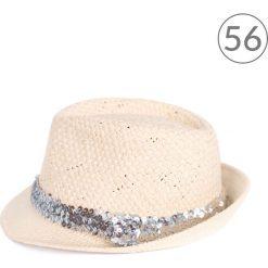 Kapelusz damski Shiny beżowy r. 56. Brązowe kapelusze damskie marki Art of Polo. Za 34,62 zł.