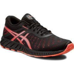 Buty ASICS - FuzeX Lyte T670N Black/Flash Coral/Onyx 9006. Czarne buty do biegania damskie marki Asics. W wyprzedaży za 239,00 zł.