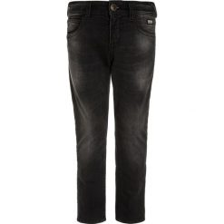 Chinosy chłopięce: Cars Jeans JAGGER Jeansy Slim Fit black used