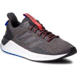 Buty adidas - Questar Ride B44809 Carbon/Carbon/Cblack. Szare buty do biegania męskie marki Adidas, z materiału. W wyprzedaży za 219,00 zł.