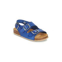 Sandały Dziecko  André  LES POISSONS. Niebieskie sandały chłopięce Andre. Za 119,20 zł.