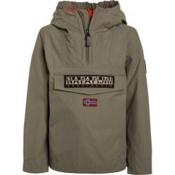 Napapijri RAINFOREST  Kurtka Outdoor khaki. Niebieskie kurtki chłopięce marki Napapijri, z bawełny. Za 499,00 zł.