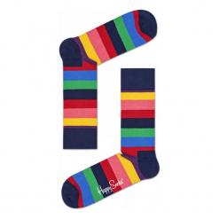 Skarpety Happy Socks Stripes (STR01-6001). Czarne skarpetki męskie marki Stance. Za 29,99 zł.