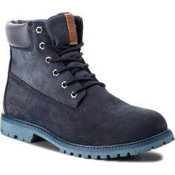 Trapery BIG STAR - BB274446 Navy. Niebieskie buty zimowe damskie BIG STAR, z materiału. W wyprzedaży za 249,00 zł.