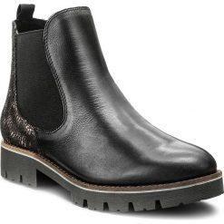 Buty zimowe damskie: Sztyblety CAPRICE - 9-25406-29 Black Comb 019