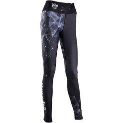 Spodnie sportowe damskie: OLIMP Spodnie damskie Olimp Galaxy czarne r. L (SGalaxy)