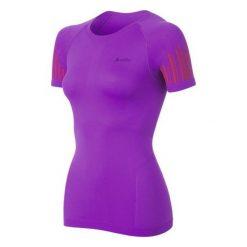 Bluzki sportowe damskie: Odlo Koszulka damska Evolution Cool Trend fioletowo-różowa r. M (182101)