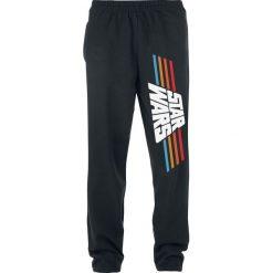 Star Wars Vintage 77 Spodnie dresowe czarny. Czarne spodnie dresowe męskie Star Wars, z motywem z bajki, z dresówki. Za 121,90 zł.