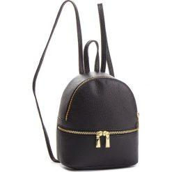 Plecak CREOLE - K10577  Czarny. Czarne plecaki damskie Creole, ze skóry. Za 169,00 zł.