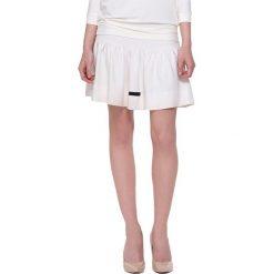 Minispódniczki: Spódnica w kolorze ecru