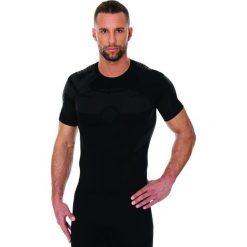 Koszulki sportowe męskie: Brubeck Koszulka męska DRY czarna r. S (SS11970)