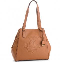 Torebka LAUREN RALPH LAUREN - Tote 431707716003 Brown. Brązowe torebki klasyczne damskie Lauren Ralph Lauren, ze skóry. Za 1519,90 zł.
