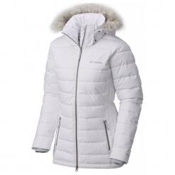 Columbia Kurtka Zimowa Damska Ponderay Jacket White M. Białe kurtki damskie narciarskie Columbia, na zimę, s, omni-heat (columbia). Za 799,00 zł.