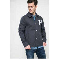 Hilfiger Denim - Kurtka Varsity Coach. Szare kurtki męskie przejściowe marki Hilfiger Denim, l, z bawełny. W wyprzedaży za 399,90 zł.