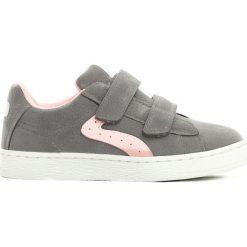 Szare Buty Sportowe Onset Of Spring. Szare buty sportowe chłopięce marki Born2be, z materiału, z okrągłym noskiem. Za 44,99 zł.