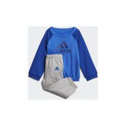 Spodnie dresowe dziewczęce: Zestawy dresowe adidas  Dres z polaru Logo