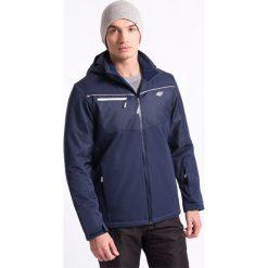 Kurtka narciarska męska KUMN004z - granatowy ciemny - 4F. Niebieskie kurtki męskie pikowane marki 4f, na jesień, m, z materiału, z kapturem. Za 269,99 zł.