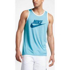 Nike Koszulka M NSW TANK ACE LOGO niebieska r. XL (779234 499-S). Niebieskie koszulki sportowe męskie Nike, m. Za 85,00 zł.