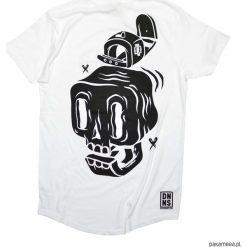 T-shirt Big Skull Longer Length. Szare t-shirty męskie Pakamera, m, z bawełny. Za 139,00 zł.