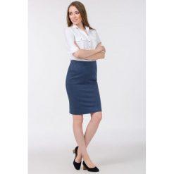 Spódnice wieczorowe: Elegancka spódnica z drobnym wzorem II