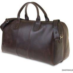 Torebki klasyczne damskie: Skórzana torba podróżna walizka na ramię