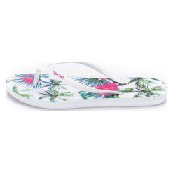 Rip Curl Japonki Damskie 37 Białe. Białe crocsy damskie marki Rip Curl, w kwiaty. W wyprzedaży za 59,00 zł.