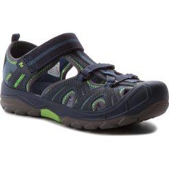 Sandały MERRELL - Hydro Hiker Sandal MY53375 Nvy/Grn. Niebieskie sandały męskie skórzane marki Merrell. W wyprzedaży za 159,00 zł.