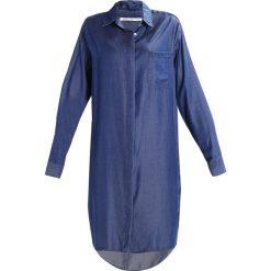Circle of Trust ROMEE Sukienka jeansowa navy. Brązowe sukienki marki Circle of Trust, xl, z materiału. W wyprzedaży za 407,20 zł.