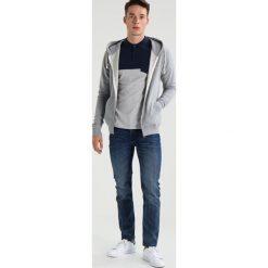 Bejsbolówki męskie: Knowledge Cotton Apparel BASIC  Bluza rozpinana grey melange
