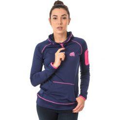 IGUANA Bluza damska YARED W Patriot Blue/Magenta r. S. Brązowe bluzy sportowe damskie marki IGUANA, s. Za 148,58 zł.