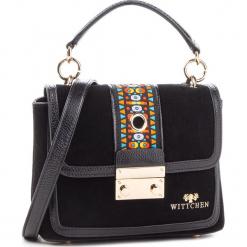 Torebka WITTCHEN - 86-4E-385-1 Czarny. Czarne torebki klasyczne damskie marki Wittchen, ze skóry. W wyprzedaży za 409,00 zł.