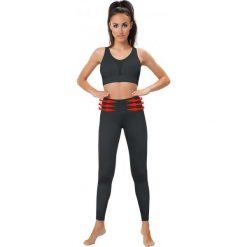 Legginsy sportowe damskie: Gwinner Legginsy BELLY CONTROL LEGGINGS Climaline + czarne S