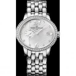 ZEGAREK GIRARD PERREGAUX CAT'S EYE SMALL SECONDS 80484D11A161-11A. Szare zegarki damskie GIRARD-PERREGAUX, szklane. Za 62390,00 zł.