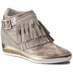 Sneakersy KHRIO - 171K7104PKNJLQ Lunar/Sand. Szare sneakersy damskie Khrio, z materiału. W wyprzedaży za 369,00 zł.
